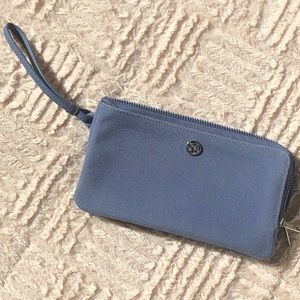 Lululemon Double Up Pouch wristlet in color Shade